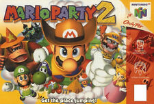 Mario Party 2 (Nintendo 64, 2000) Cart Only Tested
