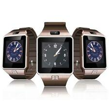 NEW Bluetooth montre Smart Watch DZ09 GSM carte SIM pour Iphone Android OR ED