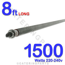 "HE9615 96"" / 8ft LONG 1500 watt 1.5kw DRY / WET ROD HEATING ELEMENT 220v-240v"