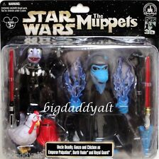 NEW Disney STAR WARS WEEKENDS 2013 Muppets Uncle Deadly Gonzo Figure Darth Vader