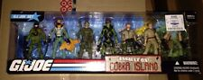 NEW G.I. Joe 25th Exclusive Assault On Cobra Island Rare 7 Pack