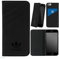 "Adidas Apple iPhone 6, 6s 4,7"" book case cover móvil funda protectora negro"