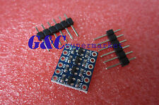 2Pcs 4 Channel IIC I2C Logic Level Converter Bi-Directional Module 5V ~3.3V M32