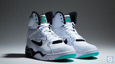 DS Nike Air Command Force 684715-102 White Black Wolf Grey Hyper Jade Size 8.5