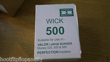 BOXED VALOR 500 HEATER WICK WITH CARRIER FITS 525 585 555 KEROSENE AUSTRALIA NEW