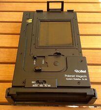 Rollei Polaroidmagazin zur Rolleiflex SL 66, SL 66E und SL 66SE