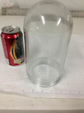 """NOS OLD VTG MINT CONDITION CLEAR """"EXPLOSION PROOF"""" GLASS DOME/GLOBE, INDUSTRIAL"""
