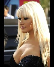 Christina Aguilera Sexy Singer & Judge on The Voice 8x10 Glossy Color Photo