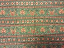 Vintage Cotton Fabric by Jinny Beyer for RJR Fashion Fabrics Green Quilting