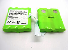 2 x MOTOROLA IXNN4002A XTR446  WALKIE TALKIE   COMPATIBLE RECHARGEABLE BATTERY