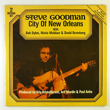 "2 x 12"" LP steve Goodman-City of New Orleans-b4232-washed & cleaned"