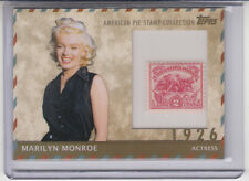 2011 TOPPS AMERICAN PIE STAMP COLLECTION MARILYN MONROE APSC-11 #34/76