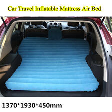 Car Travel Inflatable Mattress Air Bed Flocking Car Bed For Camping 5 Colors