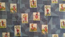 """Vintage Cotton Fabric HOLLY HOBBIE PATCHWORK by American Greetings 45""""W x 2YRDS"""