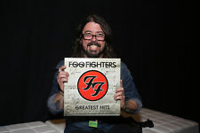 MC GRAMMY® Winners Foo Fighters Signed Greatest Hits Vinyl Record