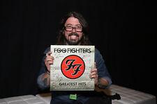 MC GRAMMY® Winners Foo Fighters Signed Greatest Hits Vinyl Record