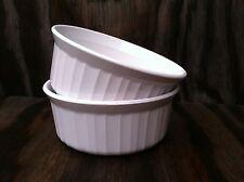 Corning Ware French White 2 Ct. Round 16 Oz. Casserole Dishes