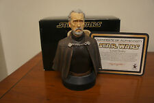 STAR WARS GENTLE GIANT COUNT DOOKU ATTACK OF THE CLONES COLLECTABLE BUST RARE