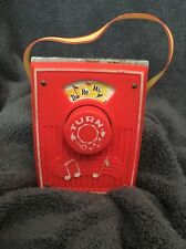 1969 Pocket Radio FISHER PRICE #759 music box DO RE MI, ��Free Shipping��