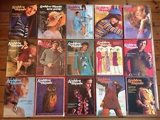 Golden Hands Magazine, 58 Editions 1971/1972 Vintage Crochet Knitting Embroidery