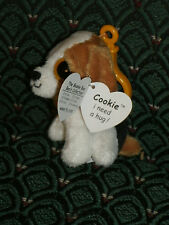 "Ty Boo 3""  Clip * COOKIE Dog 1st Gen. MWMT (i need a hug) RARE * No DOB/poem"