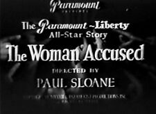 The Woman Accused DVD Nancy Carroll Cary Grant  Very Rare 1933