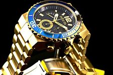 Invicta Men's Pro Diver Quest Waves of Ocean Chronograph 18K GP Bracelet Watch