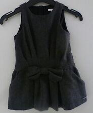 Chloé***MagnifiqueRobe/Dress  12 mois / 74 cm Rayé Grise Laine