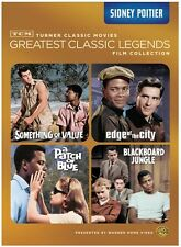 Tcm Greatest Classic Films: Legends - Sidney Poitier (2013, DVD NEW)