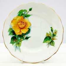 Vintage Royal Standard Wheatcroft Famous Roses Bone China Tea Plate Mme Sauvage