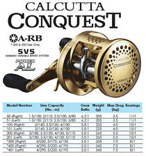 Votex Pale Gold Aluminum Paddle Knob Set for Calcutta Conquest 51/ 101/ 201/ 401