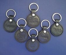 Recovery Leather KeyChain ALL coin AA NA Medallion Acceptance Handmade Brown