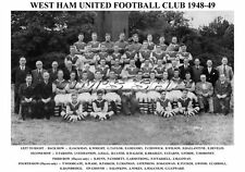 West Ham United F.C. squadra di stampa 1948-49 (Walker/Gregory/Malcolm)