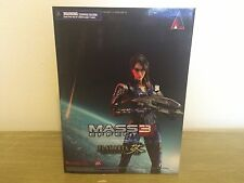 Mass Effect 3 Ashley Williams Play Arts Kai action figure NEW by Square Enix