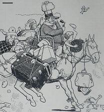 No Limit On A Horse W Heath Robinson 1936 Advertisement Ad 8649