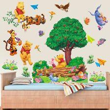 Schön 3D Winnie The Pooh Baum Wandaufkleber Wandkunst Kinder-schlafzimmer DIY
