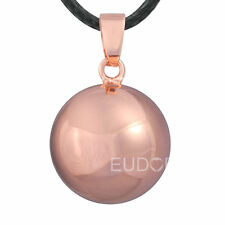 "30""L Harmony chime ball Angel caller pendant baby bola Pregnancy women Necklace"