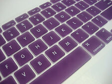 "Keyboard Skin Cover For Apple Macbook Pro Air  Mac Retina 13"" 15"" 17"" darkpurple"