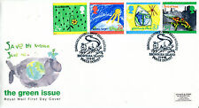 15 September 1992 Green Issue Royal Mail First Day Cover Brownsea Island Shs