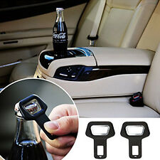 1*Car SUV Vehicle Safety Seat Belt Buckle Insert Warning Alarm Stopper + Opener