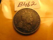 1910 CANADA RARE FIVE CENT COIN DON'T KNOW BROAD OR POINTED LEAVES TYPE ID#B507