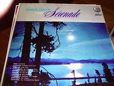 CARMEN DRAGON & CAPITOL SYMPHONY ORCHESTRA-SERENADE-LP-VG+-ALL BLACK CAPITOL