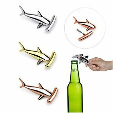 Umbra Hammered Head Bottle Opener Hammerhead Shark Assorted Brass Copper Chrome