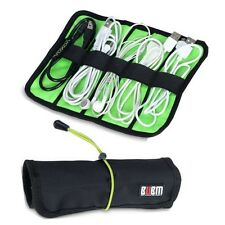 Travel Portable Storage Organizer Bag Case For USB Cable Earphone Power cord M59