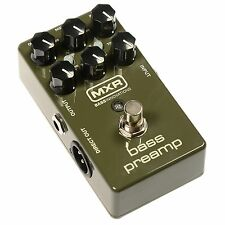 MXR M81 Bass Preamp Bass Guitar Effect Pedal with DI Output - Brand New!