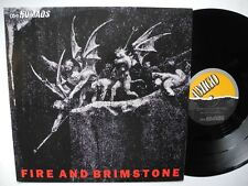 "THE NOMADS Fire And Brimstone 12"" maxi 1989 Johnny Thunders"
