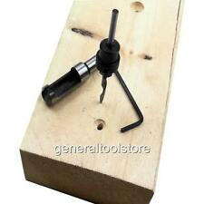 "3/8 "" 9,5 mm spina cutter and Matching lamatura Svasatura Viti lavello per legno"