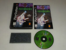 PLAYSTATION PS1 LONGBOX VIDEO GAME PHILOSOMA COMPLETE W CASE & MANUAL
