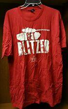 PAX PRIME 2014 World of Tanks Blitz Shirt Exclusive Get Blitz color red sz XL