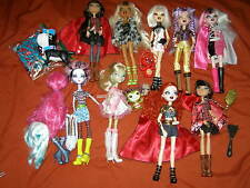 x9 BRATZILLAZ Bratz / Ever After High doll Lot + dog pet & Accessories